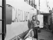 Lion Keezer in 1972 bij Radio Caroline